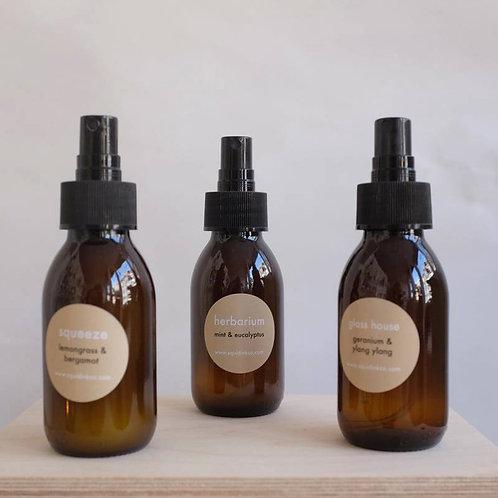 Essential Oils Room & Linen Spray, Glass House