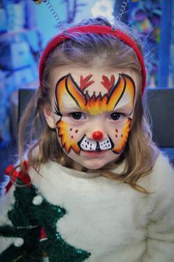 Reindeer Face Paint