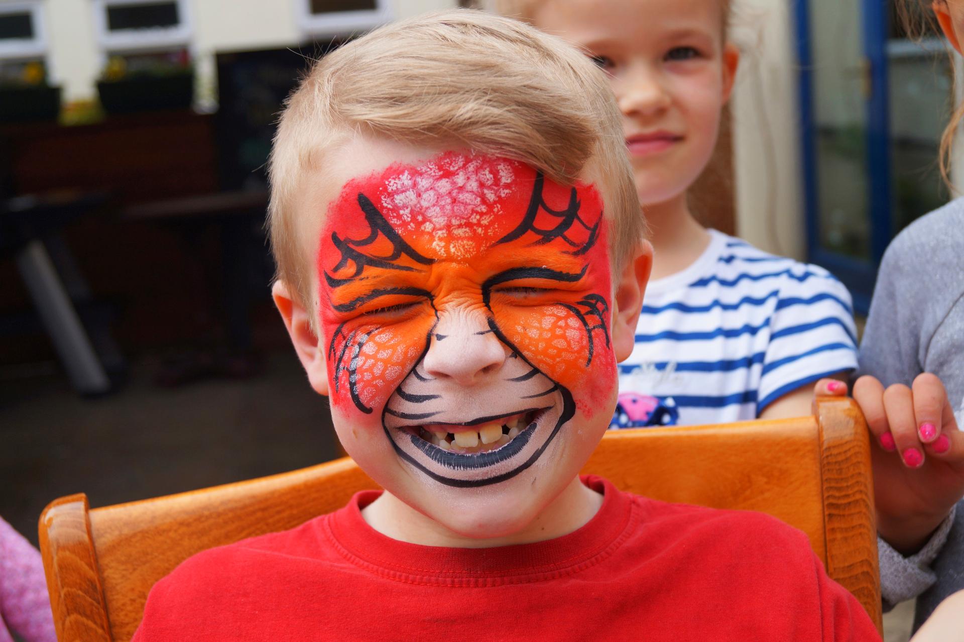 Dragon Face Paint