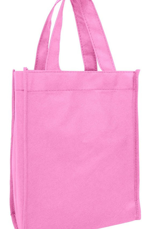 Pink: Non-Woven Tote Gift/Book Bag