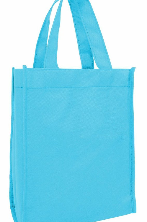 Aquamarine: Small Non-Woven Tote Gift/Book Bag