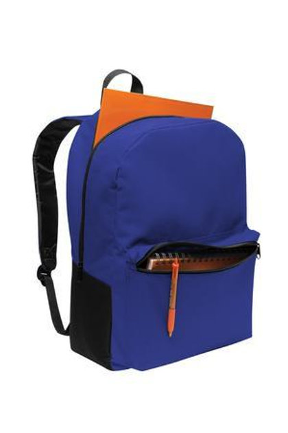 Twilight Blue: Retro Shape Backpack