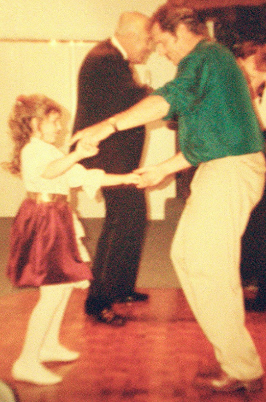 Wedding Dancing with dad as a 7 year old