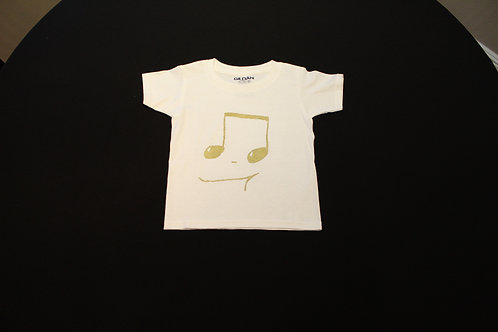 Toddler Size 3T- gold 16th Notes-100% Cotton Tagless