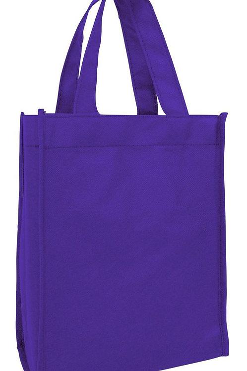 Purple: Small Non-Woven Tote Gift/Book Bag