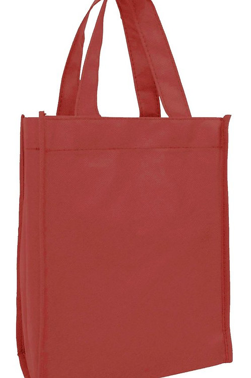 Maroon: Small Non-Woven Tote Gift/Book Bag