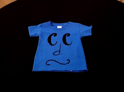 Toddler Size 2T-black common time/grupetto-100% Cotton Tagless