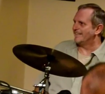 dad cymbal smile to the side