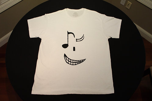 Adult 100% Cotton-Tagless T-Shirt-Wink with Teeth