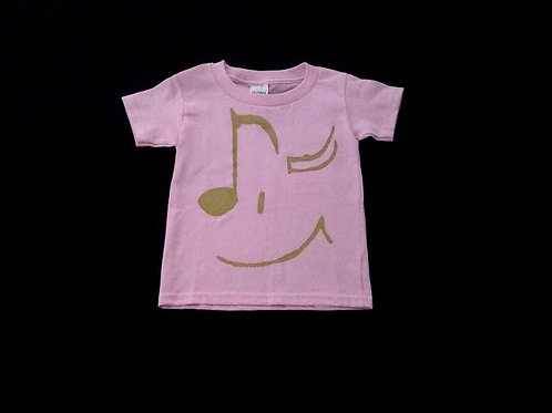 Toddler Size 2T-gold winking eyes-100% Cotton Tagless
