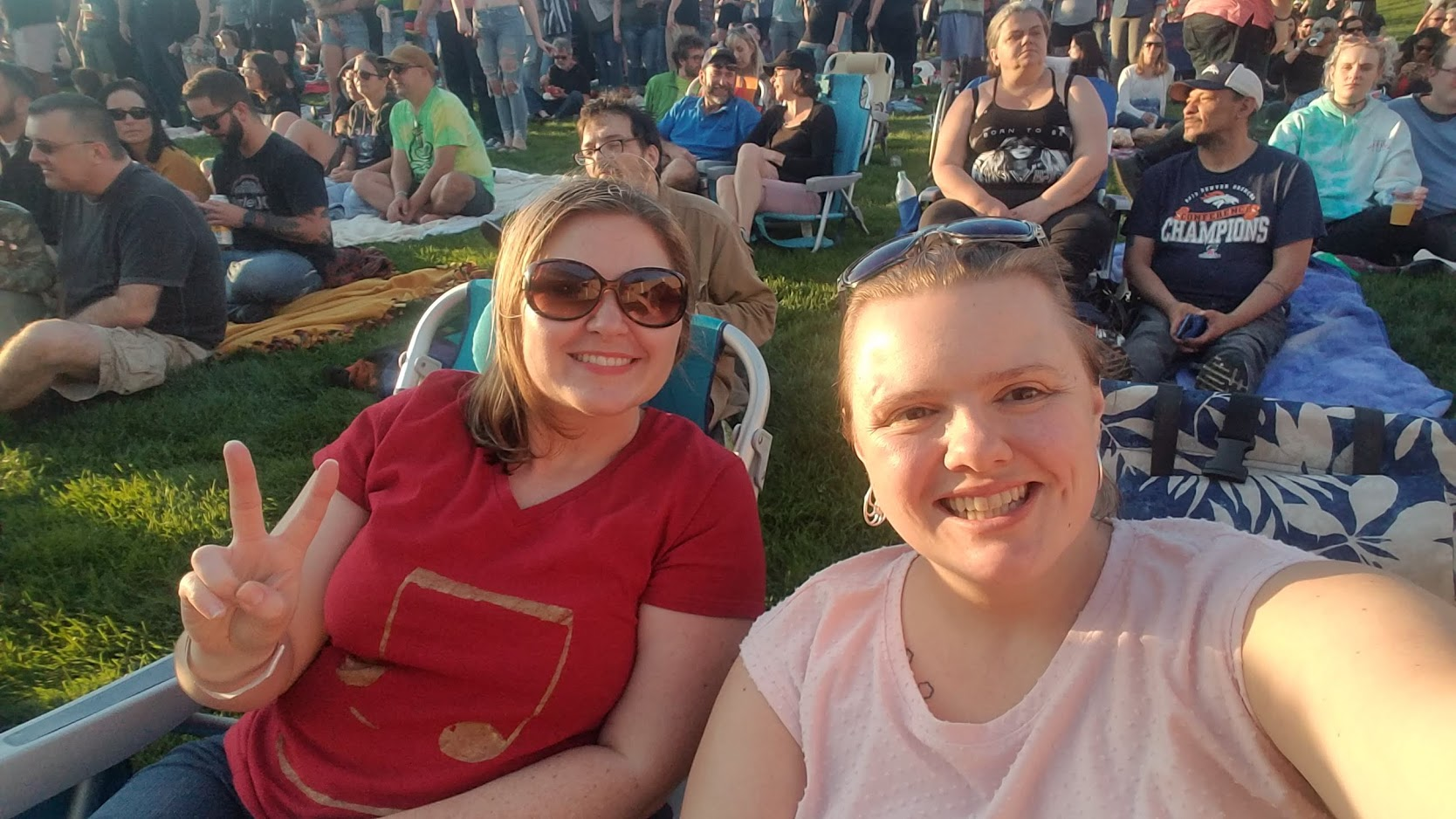 me and cassi at beck concert august 2019