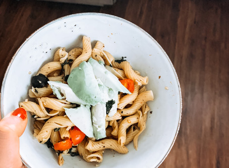 Creamy Plant-Based Pasta Bowl