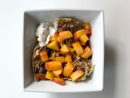 5-Minute Baked Oatmeal