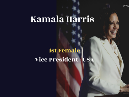 Isn't it Iconic that Kamala Harris is about to make history on a very feminine trendy day? #WCW