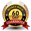 A 60 Day money back Guarantee Seal for Hempworx Products