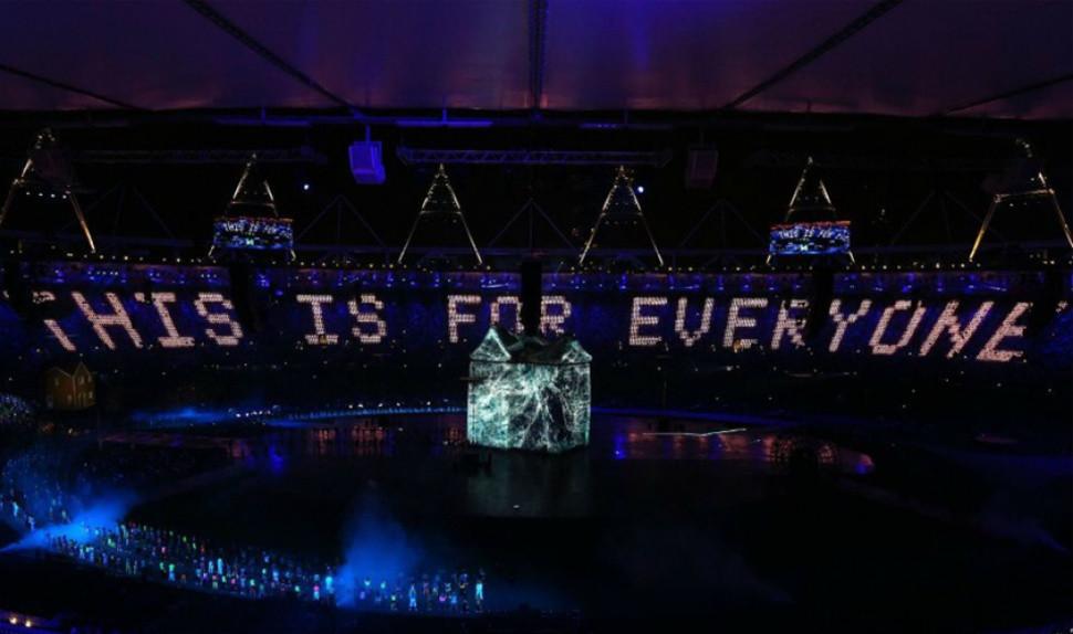 Cérémonie d'ouverture JO de Londres, 2012