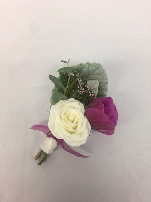 Anemone/Rose Boutonnière
