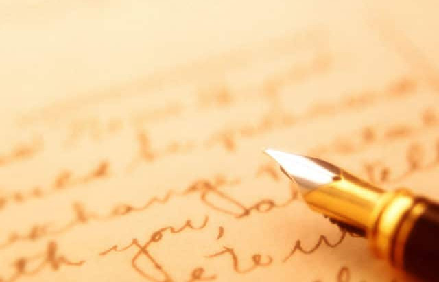 Letter From Pastor
