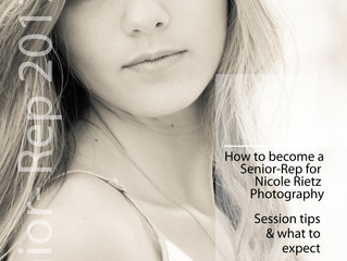 Apply Today to become a Senior Rep for Nicole Rietz Photography