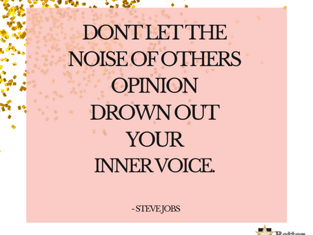 Ikke la andres meninger...