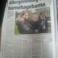 Lager allergivennlig avdeling i Drammens
