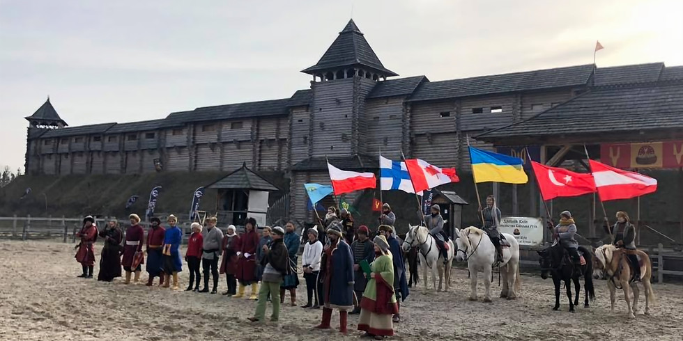 2019 Oct.  Horse Archery Competition Ukraine