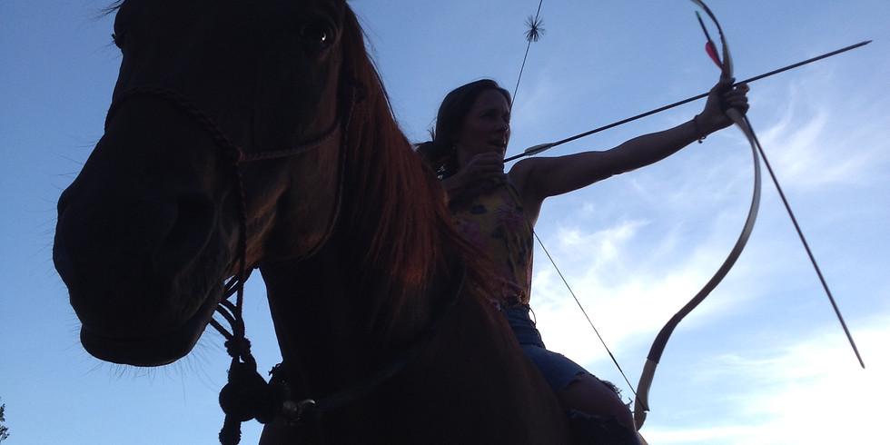 Horse Archery Clinic, Langley FVMC
