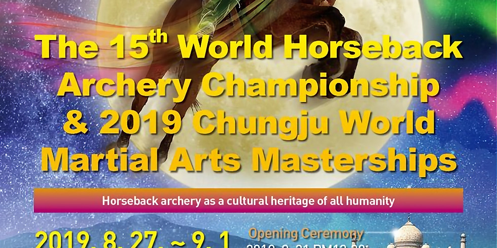World Martial Arts Mastership Korea Sept. 2019