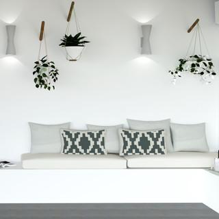 Loggia living room
