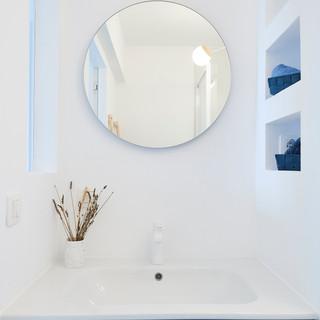 Détails salle de bain - chambre invités