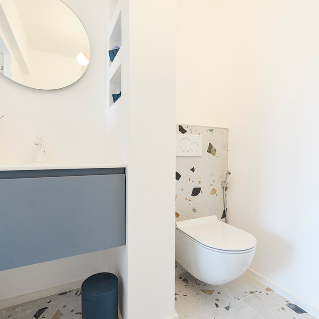 Salle de bain - chambre invités