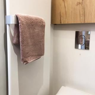 Détails coin toilettes