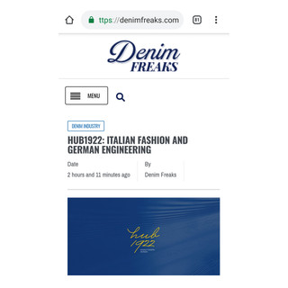 Artcile Denim Freaks BLog