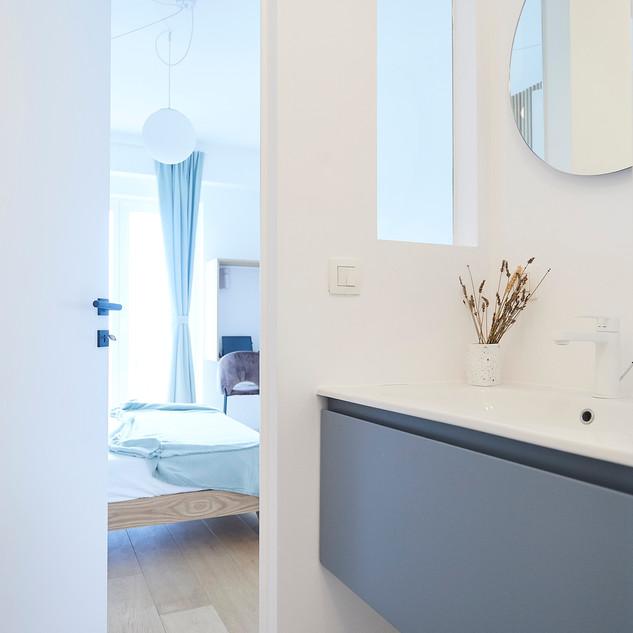 Bathroom details - guest bedroom