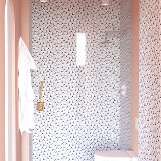 Salle de douche en suite
