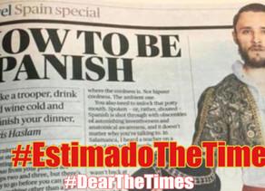 The Times y su guía para ser el perfecto español