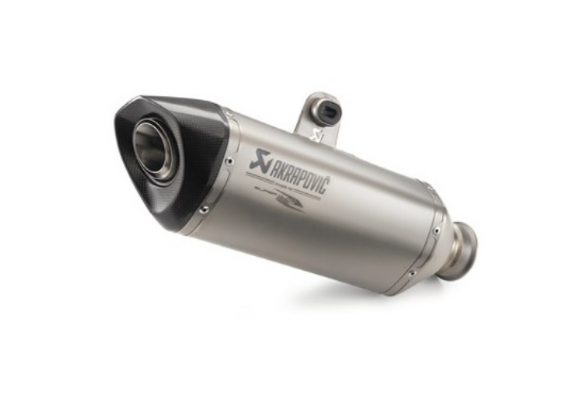 Akrapovic Ti Slip On End Can 14/16