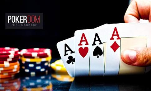 10$ no deposit bonus PokerDom