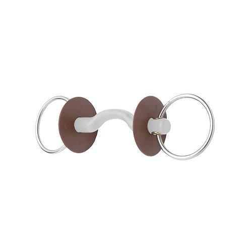 Beris - Mors 2 anneaux à passage de langue