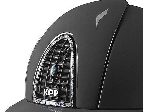 KEP - Cromo Polish/élément arrière, contour, grille et bouton en abalone