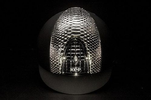 KEP - Cromo Textile noir/python argent
