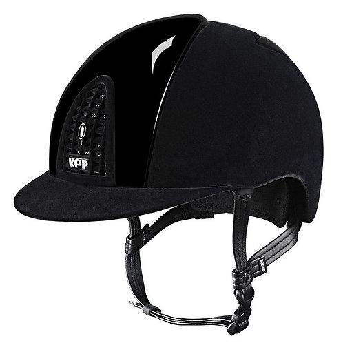 KEP - Casque cromo full velvet noir/détails brillants