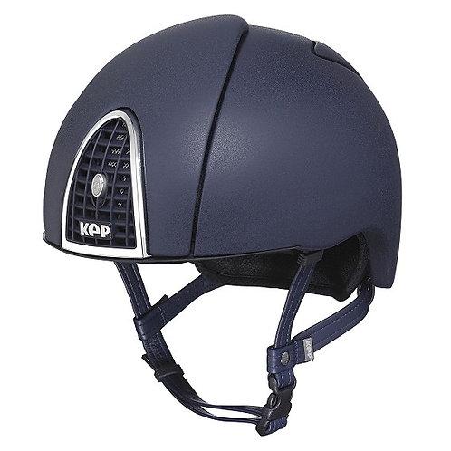 KEP - Casque cromo jockey bleu arc en ciel