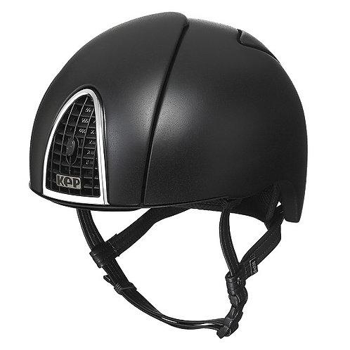 KEP - Casque cromo jockey noir arc en ciel
