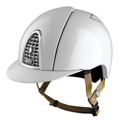 KEP - Casque cromo shine blanc