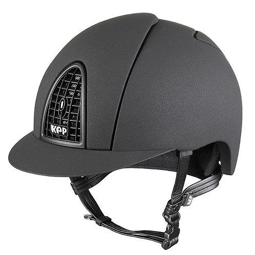 KEP - Casque cromo mica noir/grille opaque