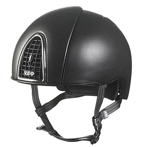KEP - Casque cromo jockey noir