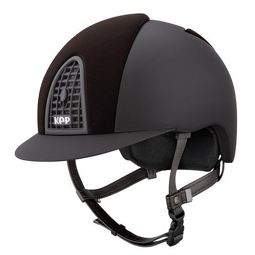KEP - Casque cromo velvet marron
