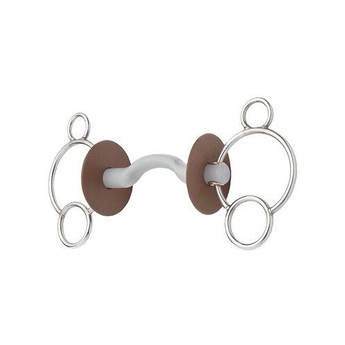 Beris - Mors 3 anneaux à passage de langue