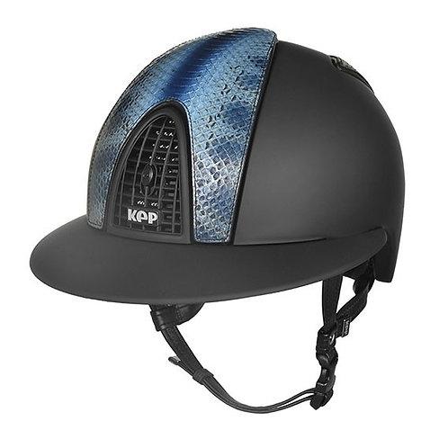 KEP - Cromo Textile noir/serpent bleu bamboo